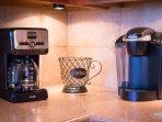 Coffee maker and Keurig