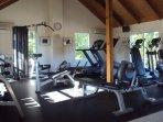 Full Gym has A/C