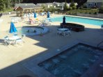 Hot Tub, Heated Pool, Toddler Pool & Outdoor Showers