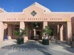 Rec center next door has summer day camp for kids