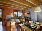 Cocina Comedor Casa Mont