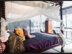 Boutique Balinese Bedroom- Sleeps (2) : Including small desk & Chair