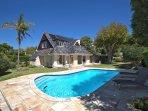Villa Karibu - Perspective from Swimming Pool Site