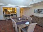Villa Karibu - Dining Room