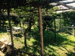 Giardino attrezzato per gli ospiti