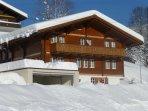 Chalet Verbrunnenhaus Winter