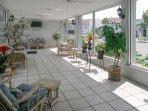 Madeira Beach Yacht Club Sun room by the Pool