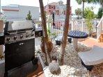 Tropic Breezes BBQ Area