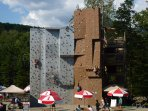 Just 1/4 mile from Loon Mt activities - rock wall, ziplining, Loon Mt tram, train, biking, and more.