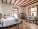 Room 2 – King sized bed. Room size 34 m².