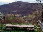 View to the village and same name river Korana