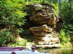 Dells rock formations