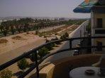 Vue panoramique du balcon numéro 1