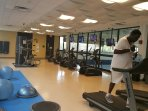 Looking to work out during your stay - visit the community center