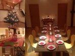 Dachgeschoss, grosser Raum, geeignet für Seminar, gemeinsame Essen, Aufenthaltsraum. Küchenzeile