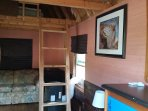 cabins with lofted beds