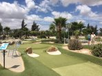 Deluxe Crazy  Golf. Great fun  for all the  family.