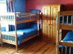 Bedroom 4  Sleeps 5