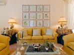 VILLA MIMOSA living room