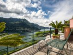 BEAUTIFUL ESCAPE COMO VIEW FROM THE TERRACE