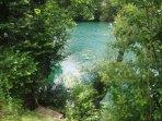 River UNA dock