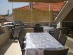 Terrace - 25 m2. Seats 10.