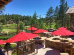Pine Canyon Country Club - Outdoor dining view!
