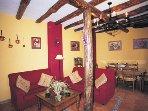 Cosy rustic living room