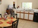Kitchen and Breakfast area.