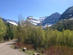 Bicycling in Glacier Park, May 2016