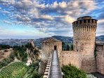 The castle of Brisighella  Il castello di Brisighella