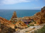 Walk and dine in the rocks, Algar Seco, less than 1km from the apartment
