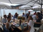 Fabulous new Beach Club, Delibo des Bains, by the sea in Villefranche in front of Villefranche Vista