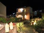 Villa Athena by night