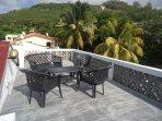Toit terrasse sur les cocotiers
