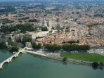 Avignon's sky view