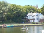 Rowing boat hire Bude Canal