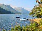 Beautiful Loch Eck nearby