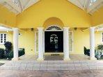 Welcome home - The villa entrance