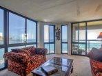 Large windows provide gorgeous views!