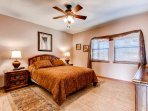 After a day exploring the area, you'll sleep easy in this cozy master bedroom!