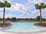 Club house community pool