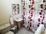 Ensuite Bathroom with Hot and Cold Shower