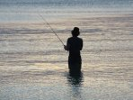 Good beach fishing
