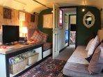 A cosy TV area