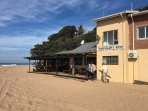 The Ski Boat Club or Mahogany Reef is our local watering hole with budget meals and drinks in season