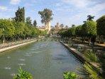 Jardines del Alcazar.