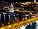 El río y Sevilla