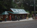 Laxey's Manx Electric Railway station