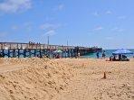 Enjoy being steps away from the Newport Beach pier and beach!